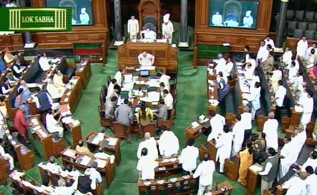 Lok Sabha Takes Up Some Business Amid Disruptions