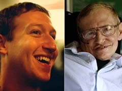 Stephen Hawking Pops In For Mark Zuckerberg's Facebook Q&A