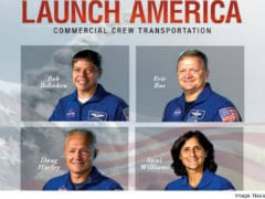 Indian-American Astronaut Sunita Williams Selected in NASA's First Commercial Crew