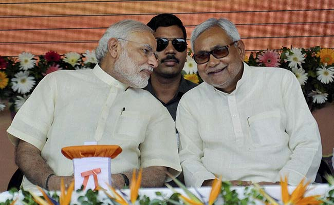 Image result for nitish and modi