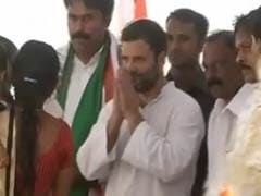PM Modi Will Take Away Your Land, Rahul Gandhi Tells Farmers in Andhra Pradesh