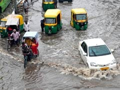 Heavy Rain Lashes North India, Parts of Delhi Waterlogged