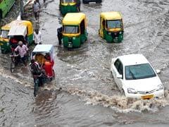 Heavy Rain Lashes North India, Parts of Delhi Waterlogged