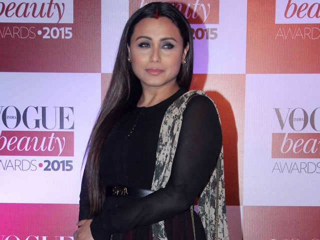 Rani Mukerji: Im Enjoying Being Married And Doing Nothing - NDTV ...