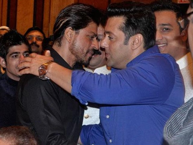 Image result for salman and shahrukh khan