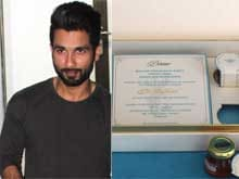 500 Guests Invited for Shahid's Reception, Reveals Man Behind the Wedding Card