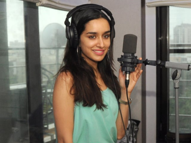 Shraddha Kapoor Aims to Impress Shankar-Ehsaan-Loy With Vocals - NDTV ...