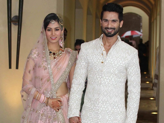 Shahid Kapoor and Mira Rajput Wedding -Trident Hotel