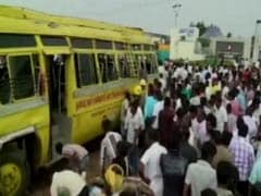 With 60 Children On Board, Tamil Nadu School Bus Flipped Over