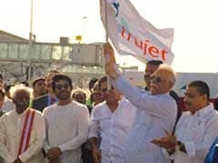 TruJet's Maiden Flight Takes Off from Hyderabad to Tirupati