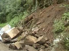 5 Killed In Mizoram Landslides After Heavy Rains, Roads Blocked