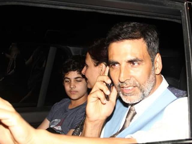 Akshay Kumar is OK With Son Watching Him Romance on Screen ...