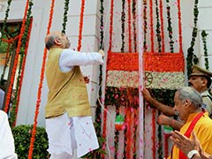 Create Great India Under PM Modi, Says BJP Chief Amit Shah to Party Workers
