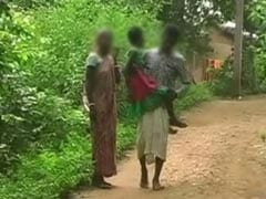 Raped 9-Year-Old's Father Carries Her 4 Km Every Week