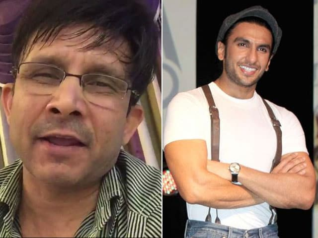 For Ranveer Singh, KRK's Best Performance Yet
