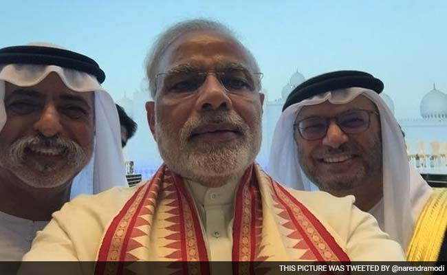 PM Modi in UAE Visit, accorded a ceremonial welcome