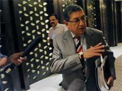 एन श्रीनिवासन फिर बने तमिलनाडु क्रिकेट संघ के अध्यक्ष