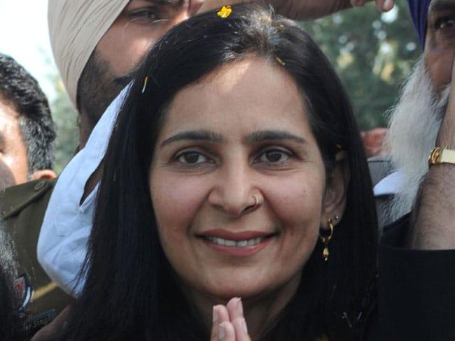 पंजाब में BJP को झटका, सिद्धू की पत्नी और विधायक नवजोत कौर ने पार्टी से इस्तीफा दिया