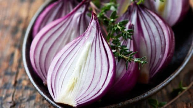 onions for hair fall