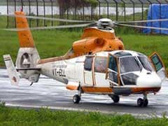 Pawan Hans Helicopter Crashes Off Mumbai Coast, 2 Pilots Missing