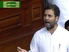 PM Does Not Have the Guts to Sit in This House: Rahul Gandhi in Parliament