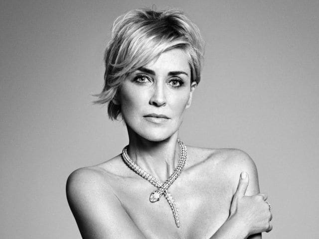 Sharon Stone, 57, Poses Nude For Fashion Magazine