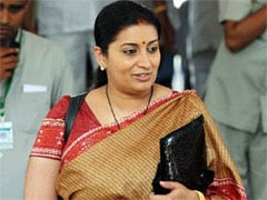 Smriti Irani Felicitates 9 Students Who Won Google Contest