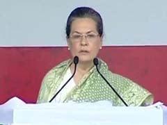 Sonia Gandhi Addresses 'Swabhimaan' Rally in Patna: Highlights
