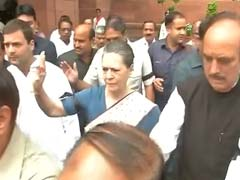 Sonia Gandhi Condoles Train Accident Deaths in Andhra