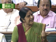 Sushma Swaraj Attacks the Gandhis, Congress: Top 5 Quotes