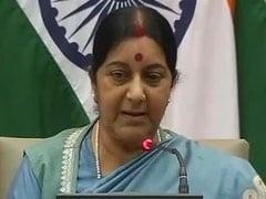Sushma Swaraj's Intervention Sought to Free Sailor Jailed in Nigeria