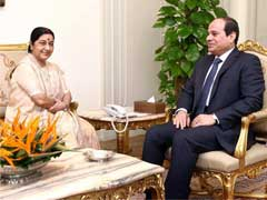 India Committed to Comprehensive Fight Against Terror: Sushma Swaraj in Egypt