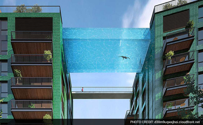 London pool in the sky will let you swim between towers - Apartments with swimming pool london ...