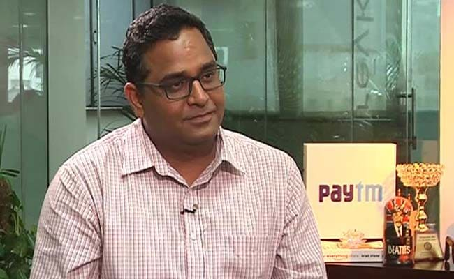 Paytm founder and CEO Vijay Shekhar Sharma ruled out competition with brick and mortar traditional banks.