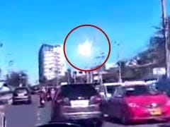 Caught on Camera: Fireball Appears to Explode Over Bangkok