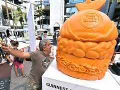 New Guinness World Record: Largest Cheese Sculpture That Weighs 691 Kgs!