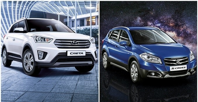 Comparison: Hyundai Creta vs Maruti Suzuki S-Cross - NDTV CarAndBike