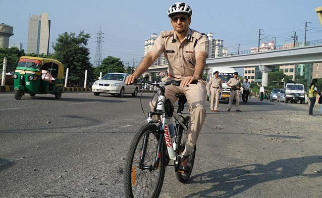 In Congested Gurgaon, Car-Free Tuesday Brings Some Relief But Not Everywhere
