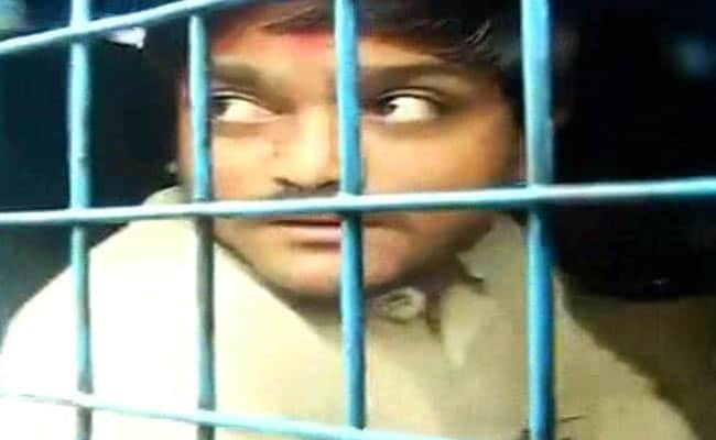 Hardik Patel Detained In Surat For Trying To Hold Protest March