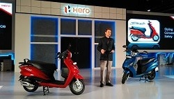 Hero MotoCorp Beats TVS as Second Largest Selling Scooter Maker