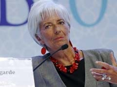 IMF's Lagarde Says Global Growth Forecast Revised Downward On Brexit