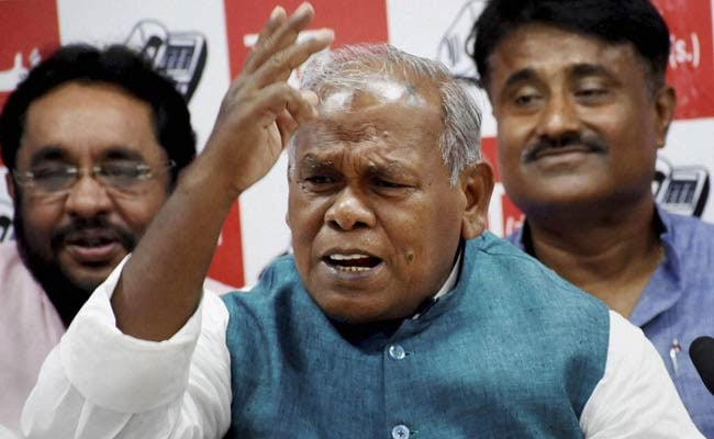 'Don't Work Under Pressure From Allies, Quit,' Manjhi Advises Nitish Kumar