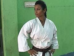 Karate Girl Takes Down Would-Be Molesters With Well-Aimed Kicks