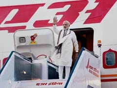 After Brief Stopover At Jaipur Due To Bad Weather, PM Modi Leaves For Delhi