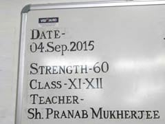 On Teachers' Day, This is What President Pranab Mukherjee Will Teach