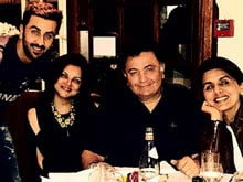 Rishi Kapoor Needs a Holiday to Recover From His Holiday
