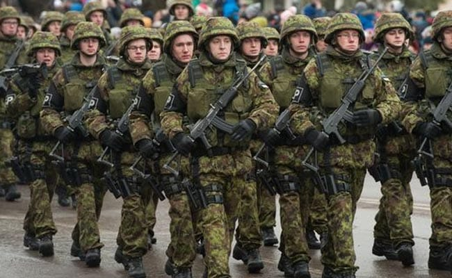 Russia is now the world's third largest military spender