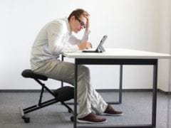 Study Suggests Formula For Physical Activity: 8 Hours of Sitting Means 1 Hour of Exercise