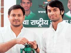 Lalu Yadav's Sons Tej Pratap And Tejashwi Own 30-Crore Plot. Bihar BJP Says It Knows How - And Why