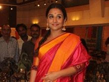 Vidya Balan Describes Herself as a 'Greedy Actress'